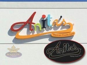 Business Sign Design don't 2_Anita's Restaurant Sign