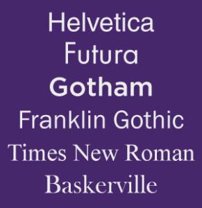 Modern-Fonts