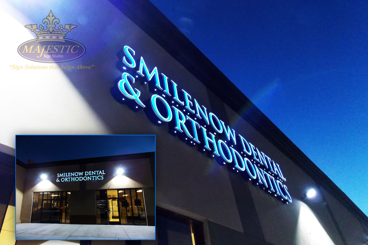 custom led signs outdoor lighted