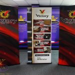 Victory Paper Trade Show Retractable Banner