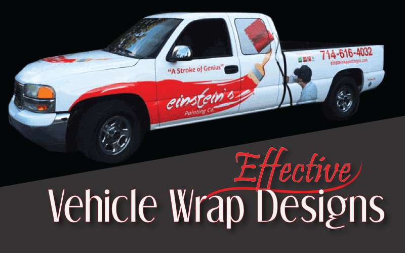 Effective Vehicle Wrap Designs