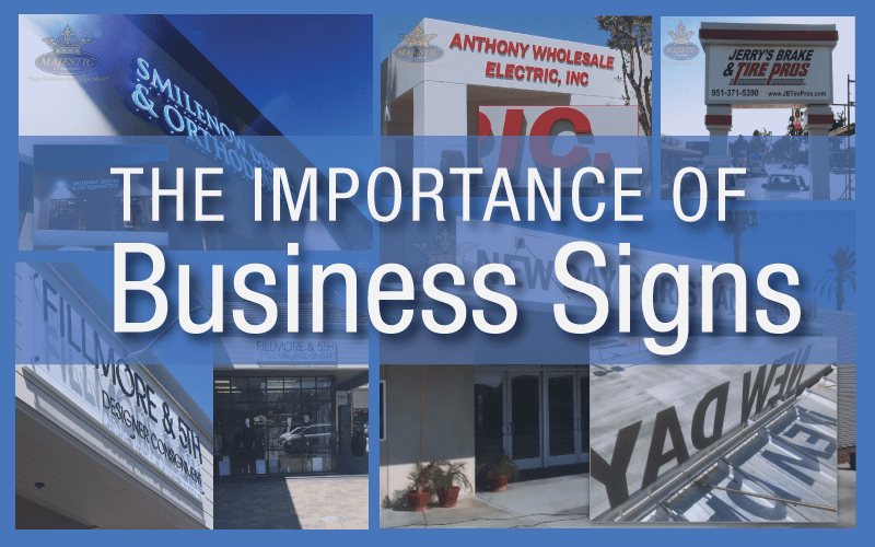 Why Your Business Needs Exterior Signage