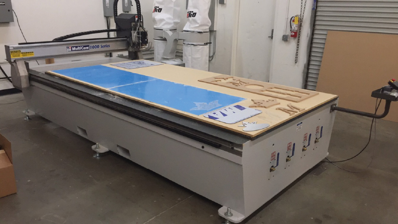 New CNC Router at Majestic Sign Studio