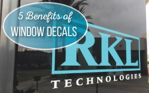 Window Decals for Businesses