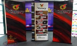 Trade Show Retractable Pop Up Banner