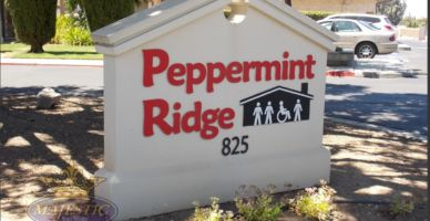 Monument Signs with Dimensional Lettering - Nonprofit Organization, Corona