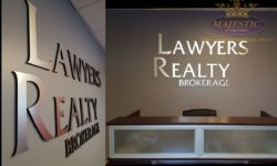 lawyer Reality office reception Signs