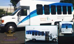 Parital Bus Wrap - Senior Living Facility, Corona