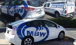 MBW car wraps