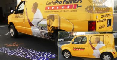 Fleet Wrap - Painting Company, southern California