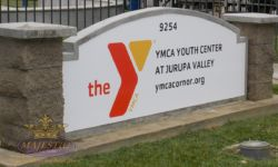 Monument Sign Reface - Youth Center, Corona Norco