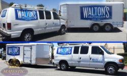 Walton van wraps