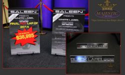 Saleen Automotive Trade Show Markers