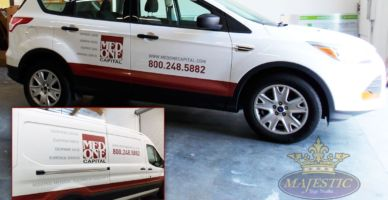 Car Graphics - Partial Vinyl Wrap & Decals - Medical Supply, southern California