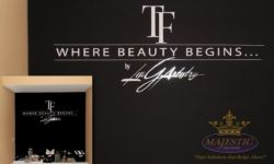 Artistry Chalkboard Decal Signage - Beauty Lounge, Laguna