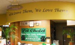 Pet Chalet Wall Decals