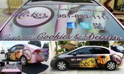 Full Vehicle Wrap & Window Graphics - Inland Empire Bakery