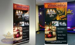 Citrus City Grill Retractable Banner