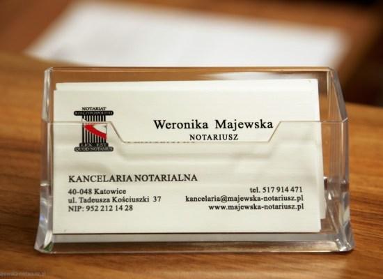 obsługa notarialna katowice