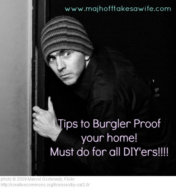 Burglar Proof Your Home: Tips and Tricks to keep your family safe
