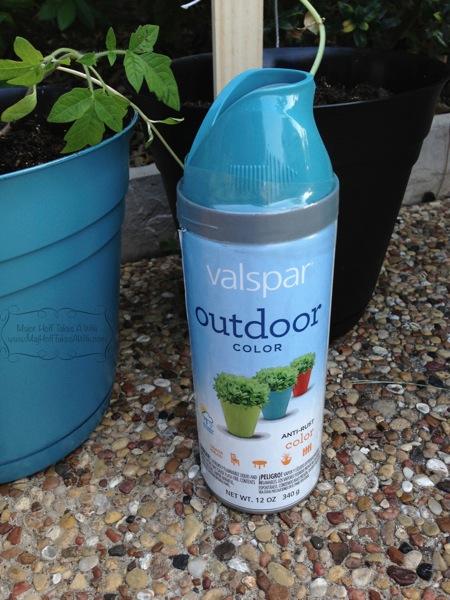 valspar outdoor paint blue