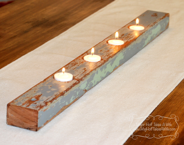 Pasture wood candles