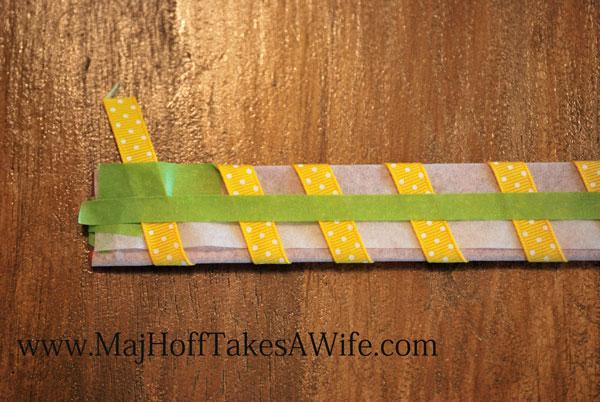 ruler ribbon stabilizer homemade trim loops