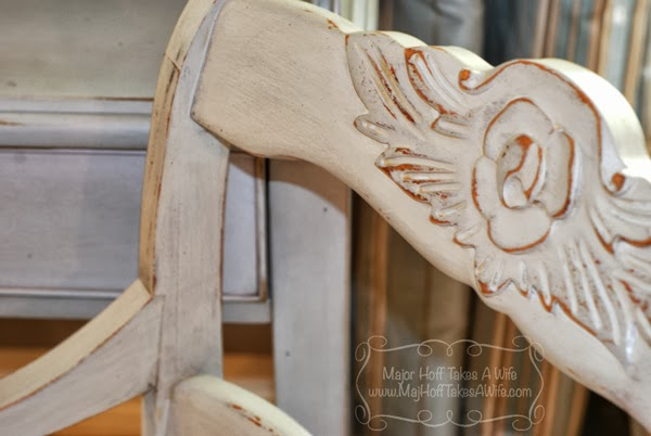 Rose detail duncan phyfe dining set chair