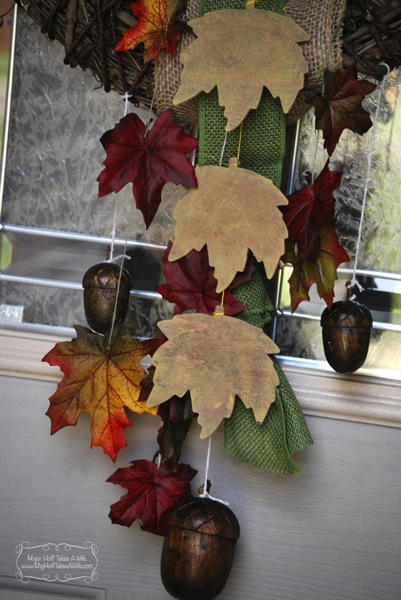 Easy fall wreath tutorial