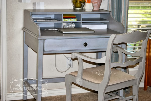 Potterybarn desk with chair