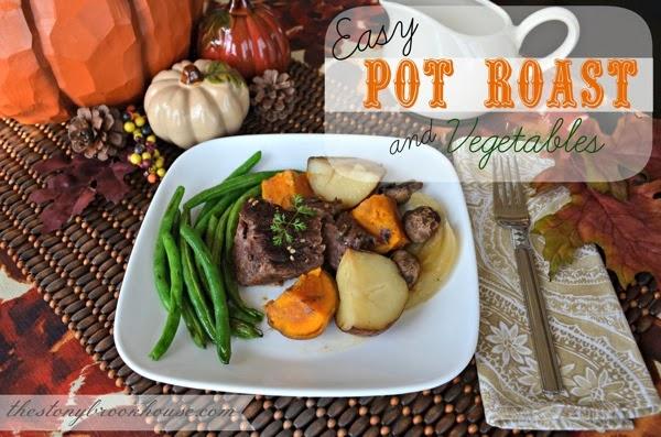 pot roast vegetables comfort food