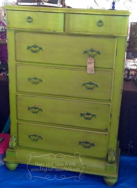 Green Apple Dresser