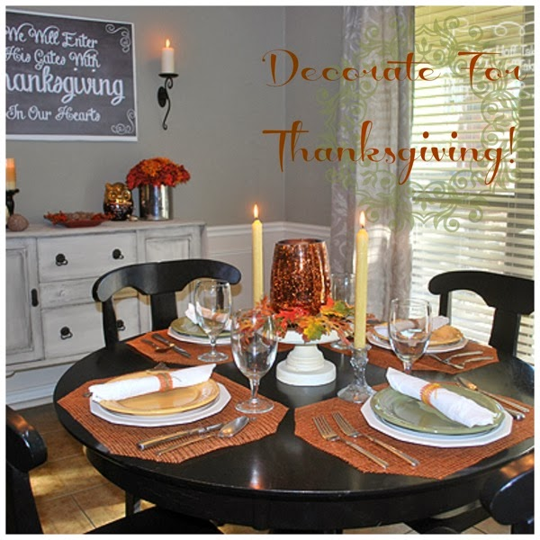 Decorateforthanksgiving