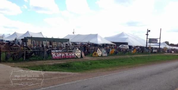 Fields of tents