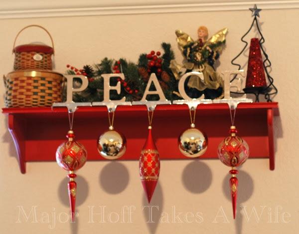 Playroom Shelf Peace Angel Tree