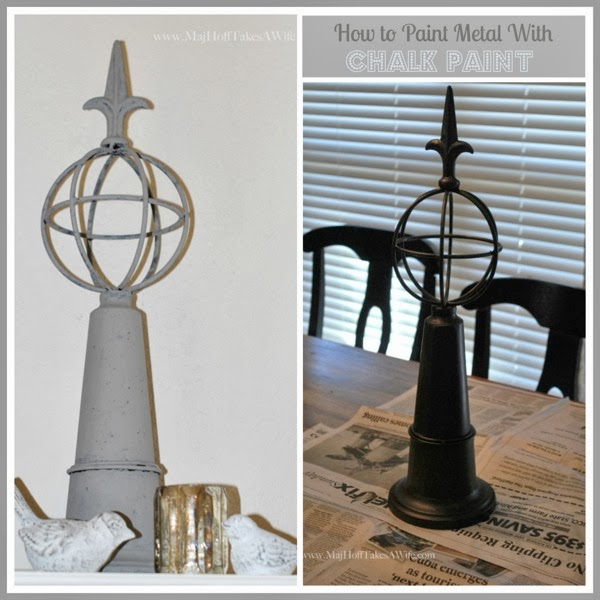 How to paint metal with chalk paint