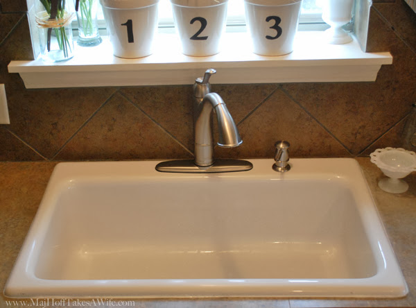 New Single Basin Sink Install Downsizing Double Sink Drains Down To One Major Hoff Takes A Wife Family Recipes Travel Inspiration
