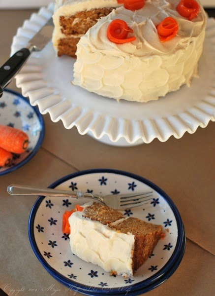 Best carrot cake ever all without nuts!