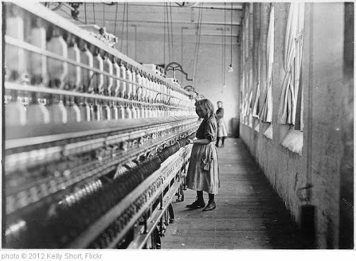 'Child Labor:  Carolina cotton mill, 1908.' photo (c) 2012, Kelly Short - license: https://creativecommons.org/licenses/by-sa/2.0/