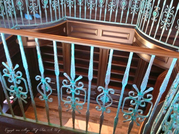 Library Top Rail looking down