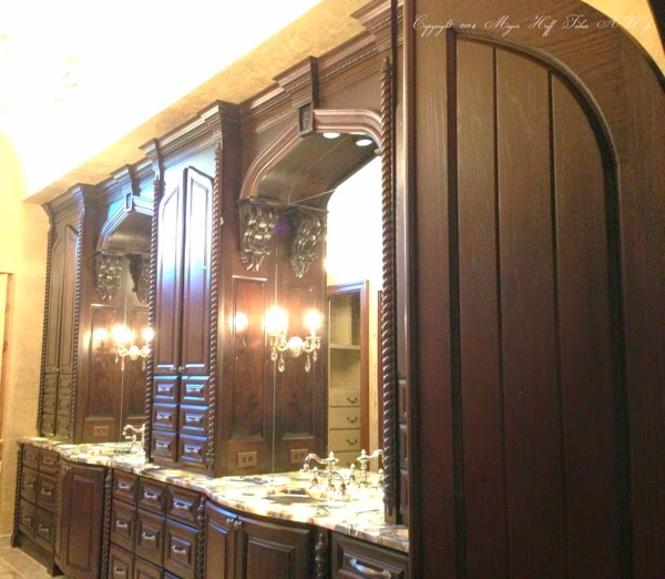 Vanity from side view