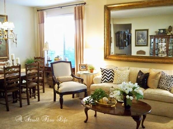 A Stroll thru life living room dining combo