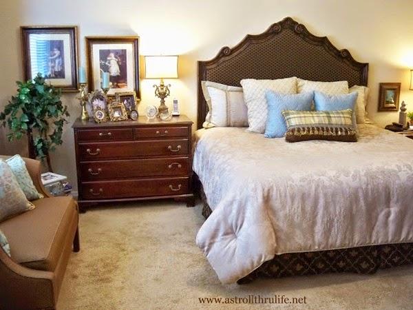 A stroll thru life bedroom