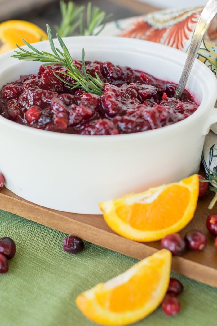 The Best Make Ahead Cranberry Sauce Recipe