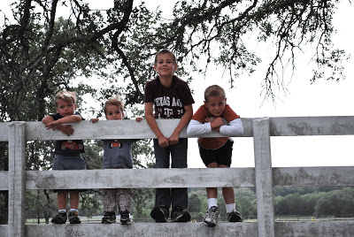 4 Texas boys circa 2008
