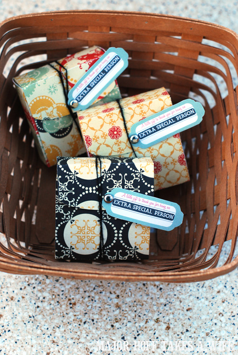 Giving Extra Chewing gum year long as little gifts