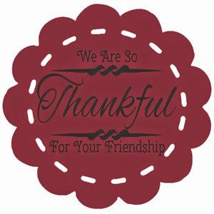 WeAreSoThankfulForYourFriendship Burgandy