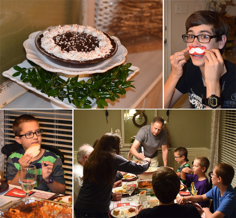 Creat a low stress easy family holiday meal with stouffers and Nestle