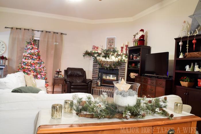 Major Hoff Takes A Wife Living Room Christmas 2014