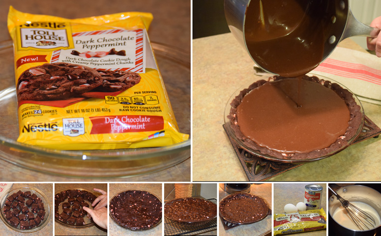 Nestle dark chocolate peppermint pie 775